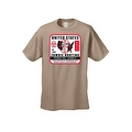Men's T-Shirt United States No Limit Zombie Hunting Permit Walkers Graphic Tee - Thumbnail 0